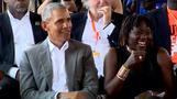 Barack Obama auf den Spuren seiner Ahnen in Kenia
