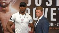Joshua looks to cement boxing legacy as Povetkin and Wilder await