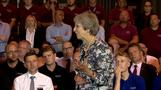 UK Prime Minister talks Brexit, Trump, and says how she relaxes