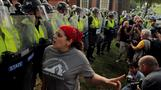 New protests a year after violent Charlottesville rally