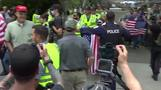 Unite the Right rally meets massive opposition