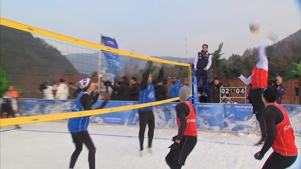 Swapping sand for snow - is snow volleyball the next winter Olympic sport?