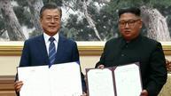 朝韩峰会签署共同宣言 金正恩称将访问首尔