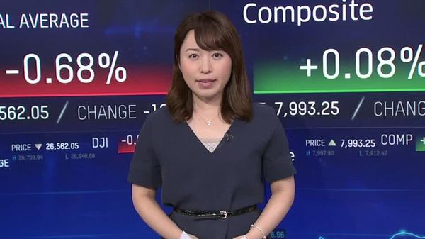 NY株ダウ平均は下落、貿易摩擦の長期化を懸念した売りで(24日)