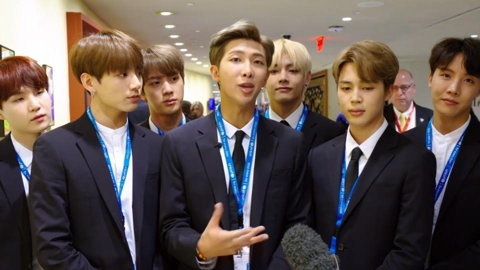 K-pop supergroup BTS says self love is the answer