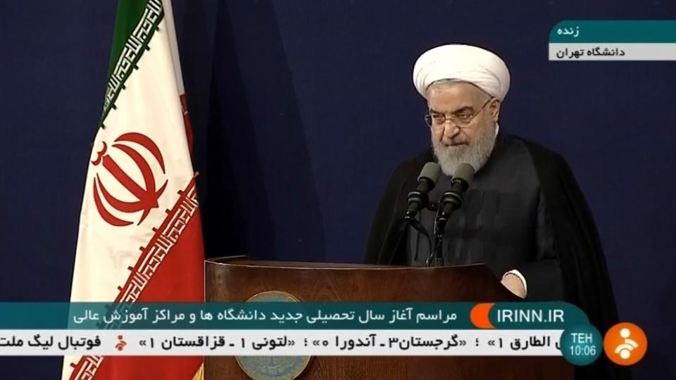 U.S. wants 'regime change' in Iran - Rouhani