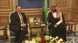 Pompeo meets Saudi crown prince over Khashoggi