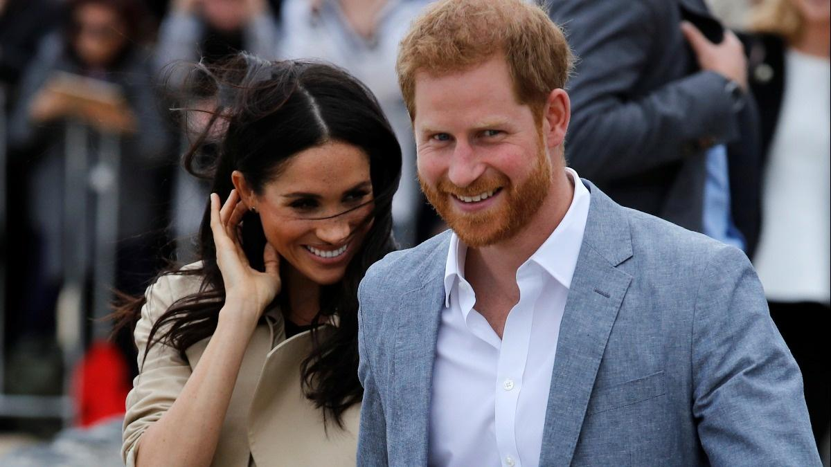 The royal couple charm down under
