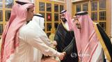 Saudi King and Crown Prince meet Khashoggi family members