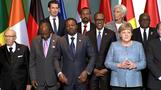 Merkel calls for private investments in Africa