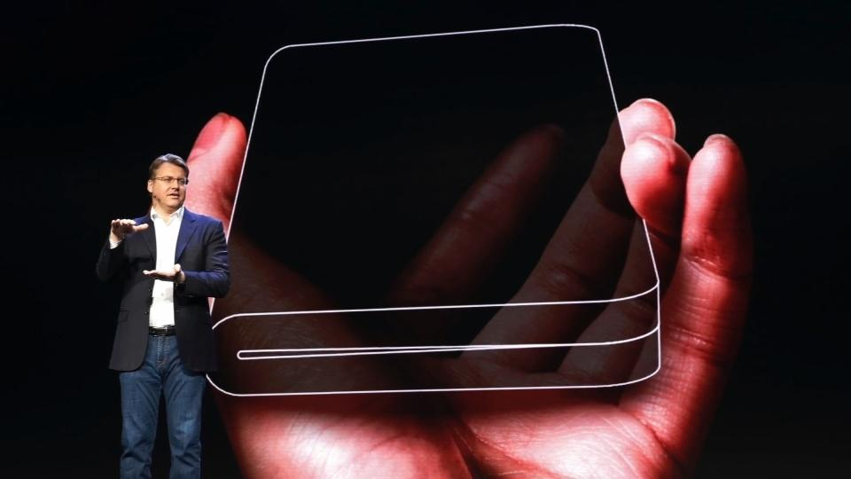 Samsung unveils much-hyped foldable phone
