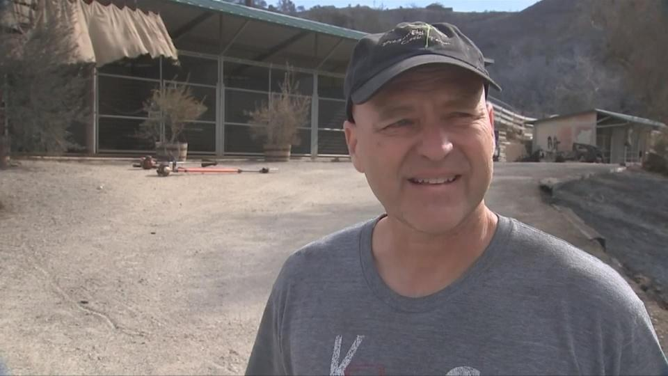 """""""It's been a rollercoaster"""": wildfire victim"""