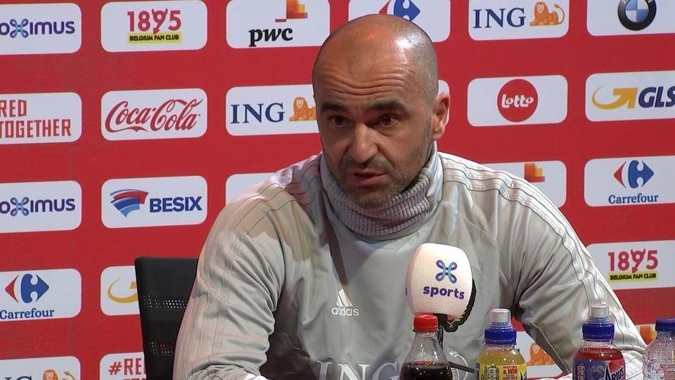 Belgium won't underestimate Iceland, says head coach Martinez