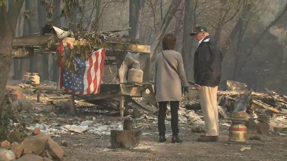 California Camp Fire devastation 'very sad': Trump