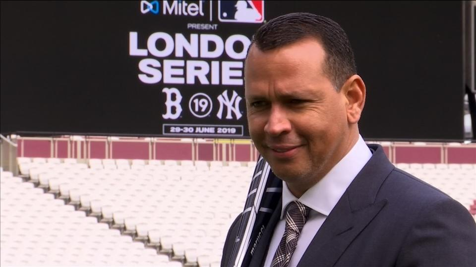 Baseball great A-Rod talks up London Series
