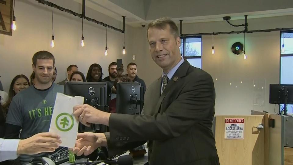 Massachusetts makes history with first pot shops