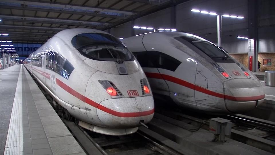 Long-distance trains in Germany halted due to strike