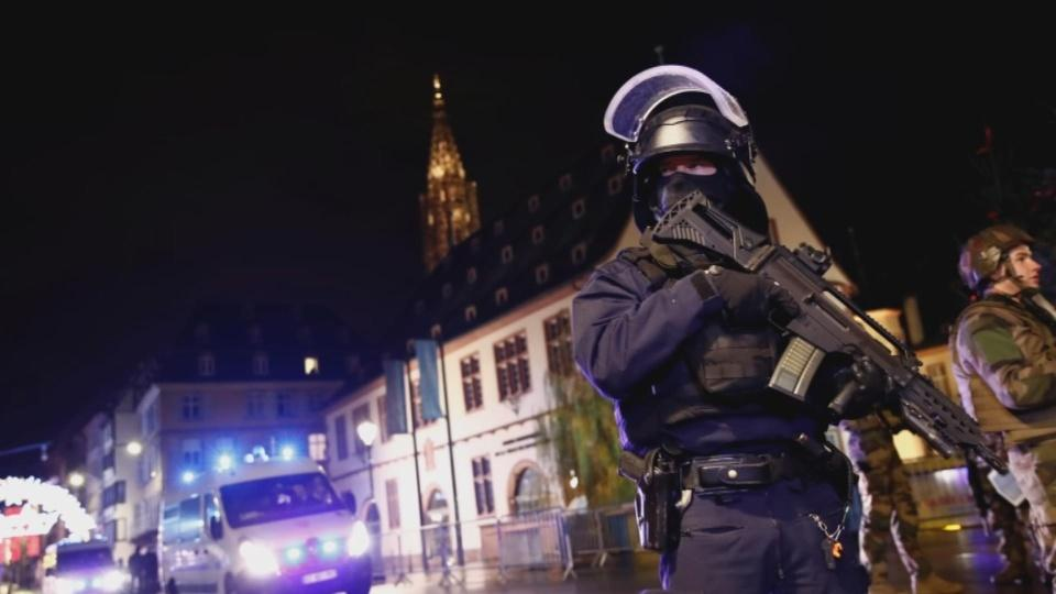 Gunman kills at least two in Strasbourg