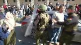 قوات الأمن الفلسطينية تفض مسيرة مؤيدة لحماس في الضفة الغربية