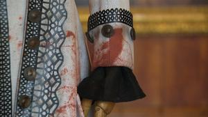 Costumes from 'The Favourite' displayed at Kensington Palace