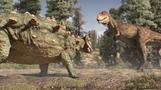 「ゴーストバスターズ」のお化けにそっくりな恐竜、カナダで展示(字幕・12日)