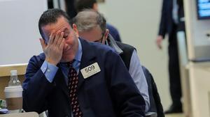 Stocks tank; investors look ahead to Fed meeting