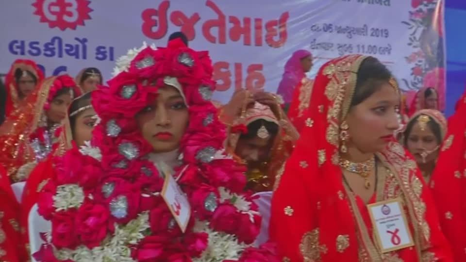 Mass wedding for orphan girls held in India | Reuters com