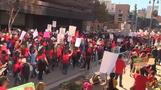 L.A. teachers strike leaves 640,000 students in limbo