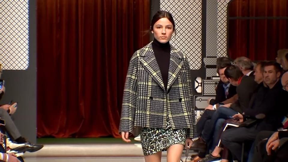 Berlin Fashion Week staple Marc Cain takes to the catwalk
