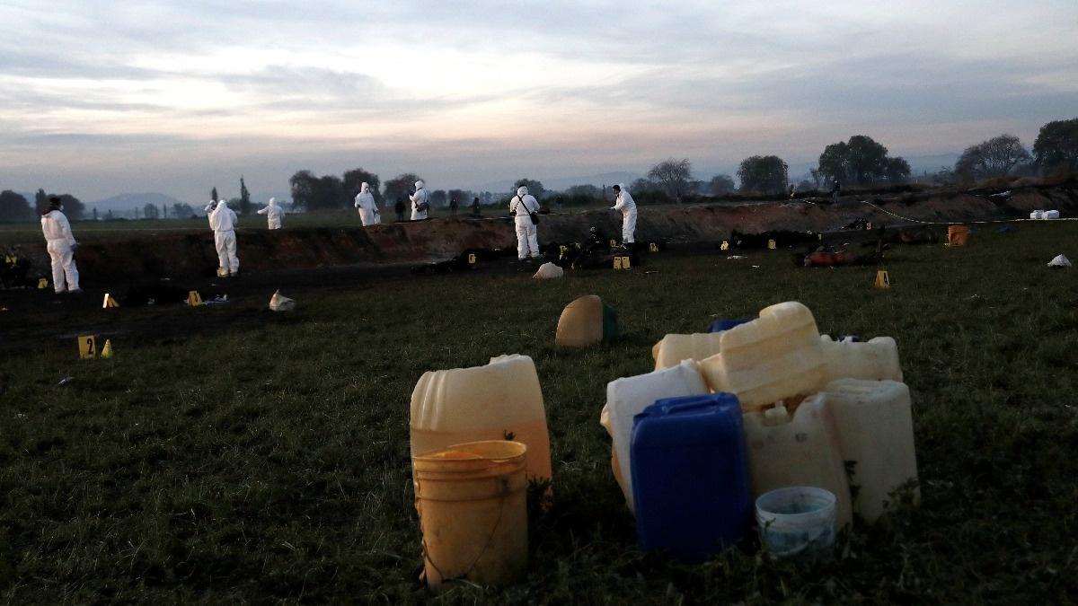 Mexico pipeline blast renews focus on fuel theft