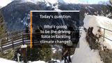Who will be the driving force behind climate change initiatives?