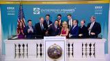 Wall Street ends near flat as trade fears persist