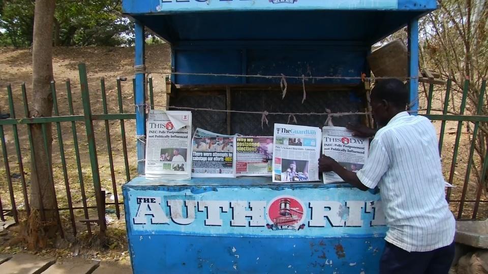 Nigerians unfazed by election delay