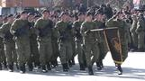 Kosovo's new army parades, Serbs disapprove