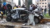 مقتل 15 على الأقل في انفجارين بإدلب السورية