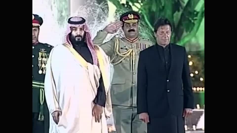 Saudi crown prince pledges $20 billion in investment deals for Pakistan