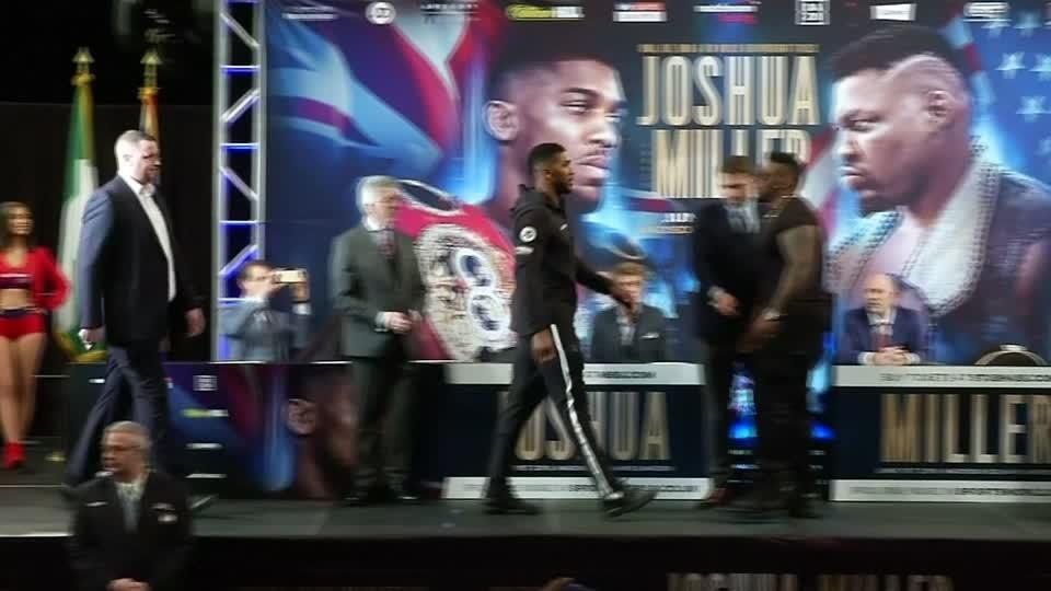 Sparks fly at Joshua-Miller news conference