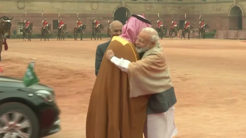 Saudi Crown Prince begins India trip under shadow of Kashmir attack