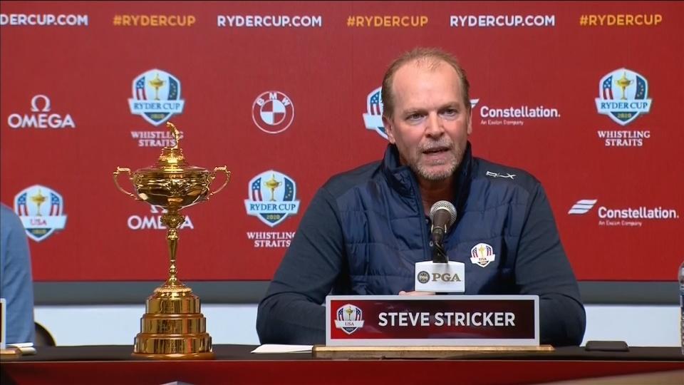 Stricker named U.S. captain for 2020 Ryder Cup
