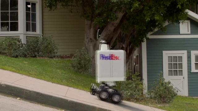 FedEx bot may soon deliver your pizza | Reuters com