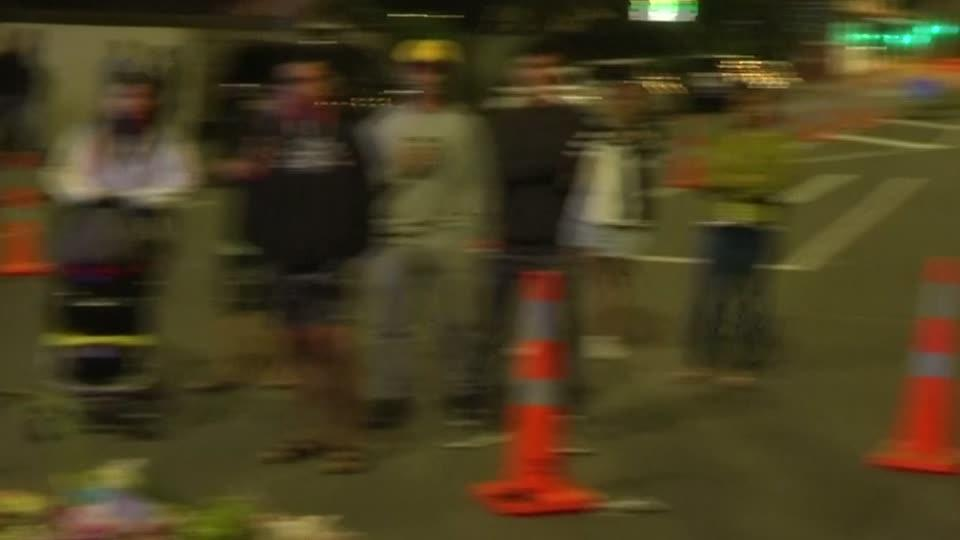 Man performs Haka at Christchurch attack site