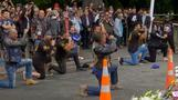 INSIGHT: Bikers perform 'haka' for mosque victims
