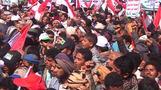 Thousands rally in Yemen's Sanaa to mark fourth anniversary of civil war