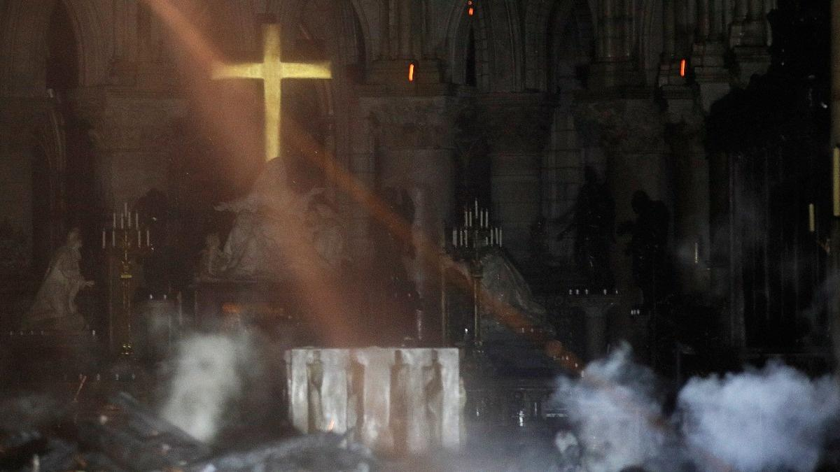 Donations pour in to help rebuild Notre-Dame