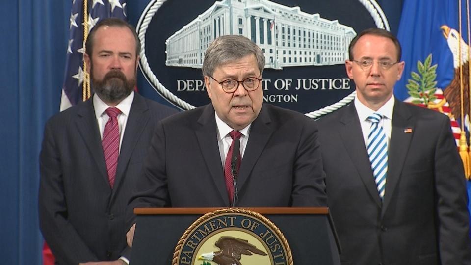 'Bottom line', Mueller found no collusion: Barr