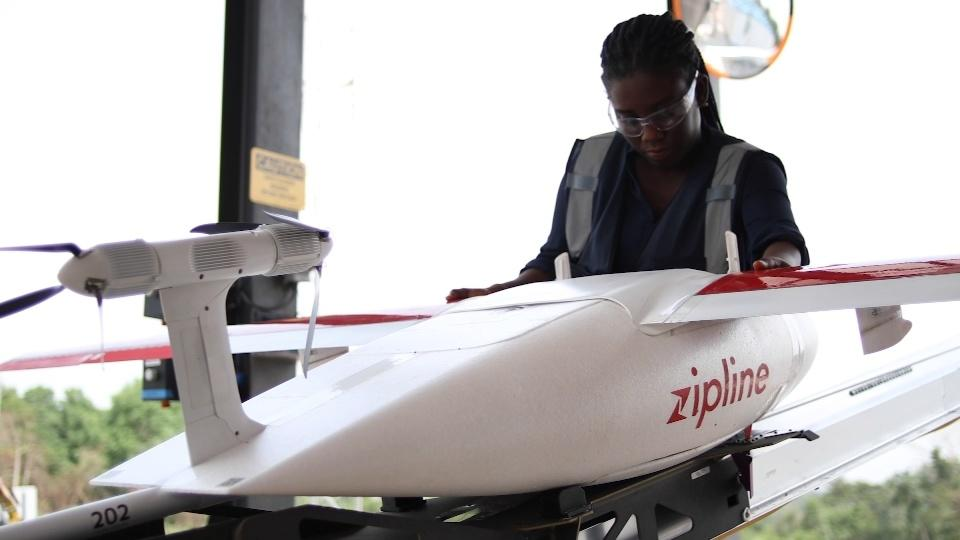 Medical delivery drones to reach millions in Ghana