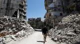 Living in the ruins of Aleppo's old frontline