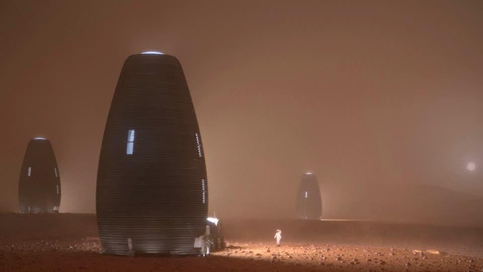3D printed Mars dwelling wins NASA prize