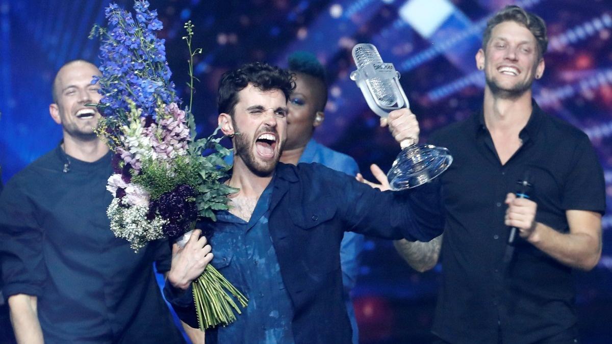 Netherlands wins Eurovision, Madonna causes stir