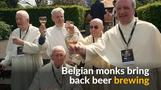 Belgian monks revive brewery after 200 years